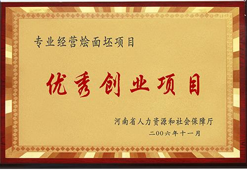 河南省优秀创业项目