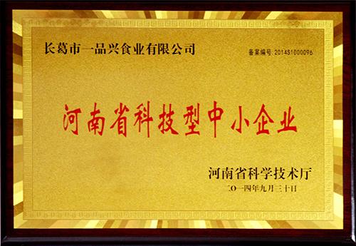 河南省科技型企业